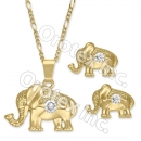 GLS 004 Gold Layered CZ Set