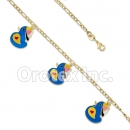 KB 003 Gold Layered Kids  Bracelet