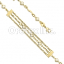 KB 007 Kids Gold Layered CZ Bracelet