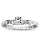 925 Sterling Silver Mini Claddagh Women's Ring