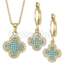 S 070 Gold Layered CZ Set